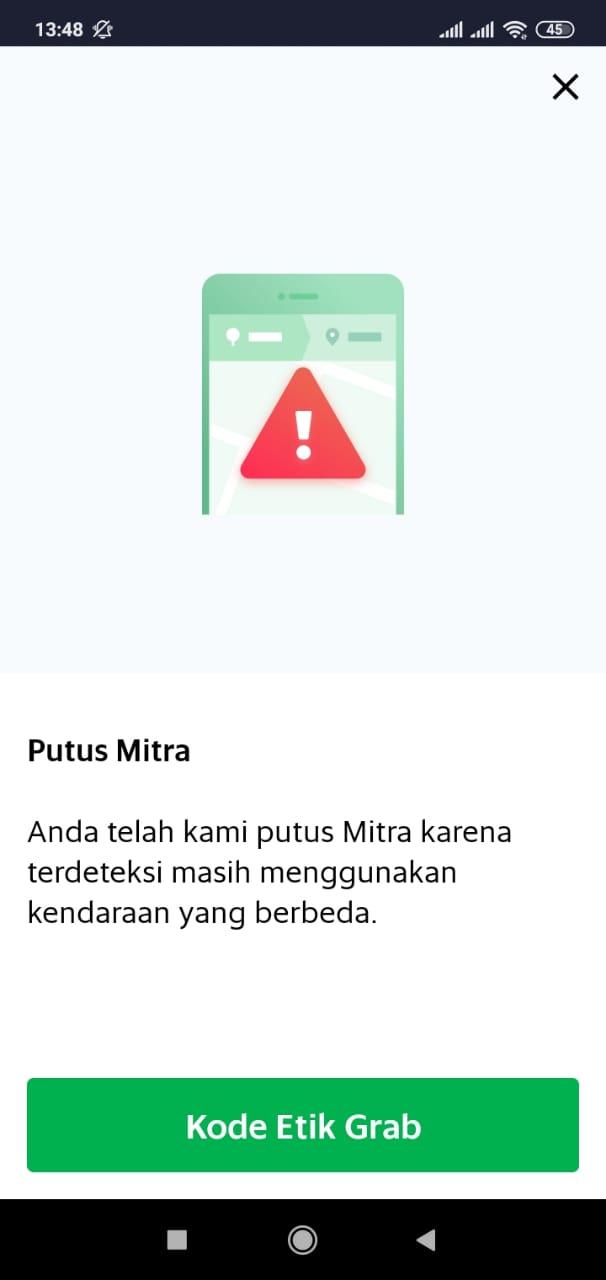 Putus Mitra Driver